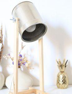 Le Diy récup- lampe